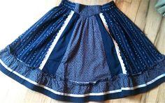 Vintage Prairie Skirt by lishyloo on Etsy, $10.00