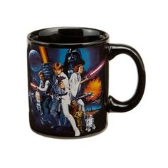 Star Wars A New Hope 12 oz Ceramic Mug Perfect for any star wars fan