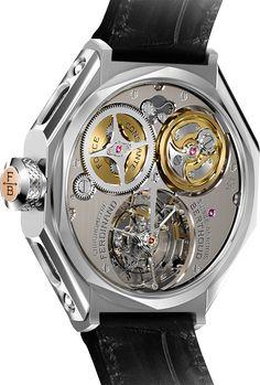 La Cote des Montres : Chronomètre Ferdinand Berthoud FB 1 - Grand Prix de l'Aiguille d'Or - GPHG 2016 - Puissance, charisme et precision - L'expression contemporaine d'un horloger emblématique