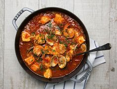 This makes the perfect winter one-pot meal; warming, easy to make, but light enough that it won't weigh you down.