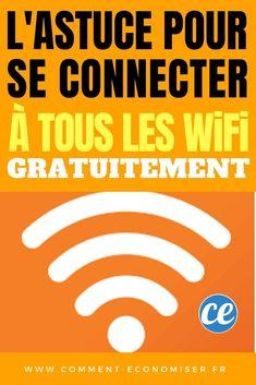 On a toujours besoin de se connecter à un Wi-Fi gratuit. Découvrez comment faire pour se connecter gratuitement à tous les Wi-Fi.