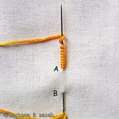 embroidery stitch tutorials #embroidery #stitches
