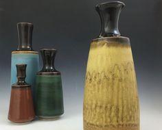 Handgefertigte Porzellan Vase  bereit zum von clearmountaincraft