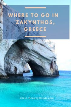 where to go in Zakinthos, Greece! From the Blue Caves, to Shipwreck Cove, to the famous lookout point, a list of all the places to visit in Zakynthos, Greece!  #zakynthos #zakyntos #greece #island