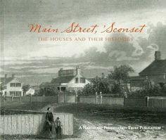 The latest book from Nantucket Preservation Trust on Main Street, Sconset.