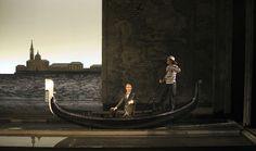Ópera Muerte en Venecia. Escenografía Jorge Ballina