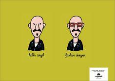 """Oogmerk Opticians - """"Get the respect you Deserve"""" - hells angel-fashion designer."""