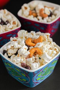 This Sweet and Salty Popcorn Snack Mix is perfect for lunchboxes or as an after school treat from The Chef Next Door.