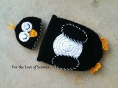 Baby Macaroni Penguin Cocoon Photo Prop