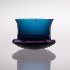 TAPIO WIRKKALA, A glass bowl designed in 1966, signed Tapio Wirkkala -3321.