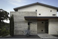 Hill Country Residence - contemporary - exterior - austin - Cornerstone Architects