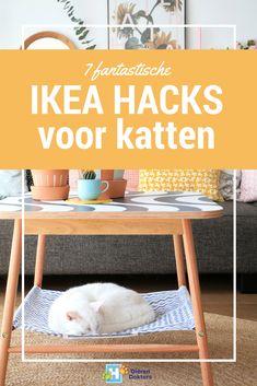 Als je helemaal gek bent van IKEA én van katten, dan zijn deze DIY IKEA hacks helemaal wat voor jou. And your cat will love you ;).