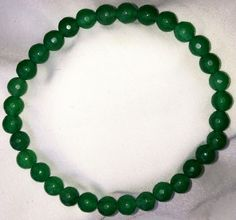 Smaragd Heilstein Perlen Armband