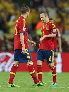 Andrés Iniesta & Fernando Torres