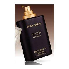 Parfum pentru barbati Baldly Acqua - 100 ml - Apa de toaleta. Capteaza esenta frumusetii masculine. Emana energie si senzualitate. Proaspat si energizant. Perfume Bottles, The Originals, Beauty, Fragrance, Perfume Bottle, Beauty Illustration