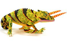 Oaxacan Wood Carvings Gallery Luis Pablo Chameleon