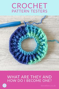 Ever seen others talking on social media about how they are testing a new crochet pattern, or watched a crochet designer thanking their testers and wondered what it's all about and how you can get involved. This post talks through the role of pattern testing in crochet design and how you can become one. Crochet pattern testing is such fun if you're a crochet addict who loves trying new things. Crochet Designs, Crochet Patterns, Love Craft, Crafty Projects, My Design, Crochet Earrings, Social Media, Stitch, Fun
