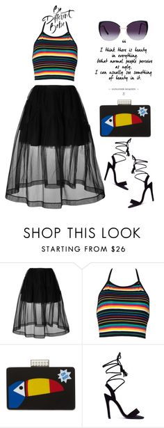 Be Different Babe by latoyacl on Polyvore featuring Simone Rocha, Les Petits Joueurs and Eloquii