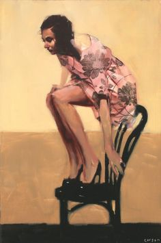 American Contemporary Painter Michael Carson!