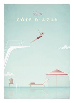 Cote d'Azur Plakat