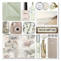"""""""Happy Place"""" by s866422b ❤ liked on Polyvore featuring beauty, Warehouse, Herbivore, Lollia, New Look, Cultural Intrigue, Case-Mate, Terre Mère, Martex and Poncho & Goldstein"""