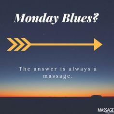 Cure those Monday blues with a nice massage! Holistic Health Spa-732-262-2100 / holistichealthspa2003@aol.com
