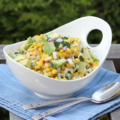 Have Recipes-Will Cook: Corn and Heart of Palm Salad