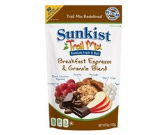 #Sunkist® Breakfast Espresso & Granola #TrailMix RedefinedTM (8 Pack) Start your morning off right! #SnackItForward