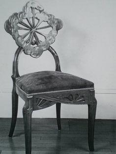 victor prouv carton d invitation pour l exposition de l ecole de nancy paris pavillon de. Black Bedroom Furniture Sets. Home Design Ideas