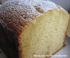 Pound Cake Recipes, My Recipes, Sweet Recipes, Recipies, Pan Dulce, Bread Machine Recipes, Sin Gluten, Cooking Time, Cooking Stuff