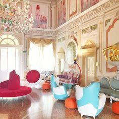 The Hotel  Byblos Villa Amista_ Art design  #florenseipanema #arte #architecture #archilovers #art #grupotopdecor #design #arte #dahoraarquitetura #artoftheday by biancadahora