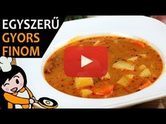 Cheeseburger Chowder, Thai Red Curry, Soup, Make It Yourself, Ethnic Recipes, Blog, Foods, Youtube, Potato Soup
