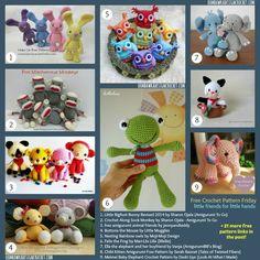 30 Free Crochet Patterns