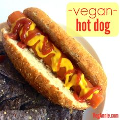 Vegan, gluten-free, low-fat hot dog with only 25 calories each! - VegAnnie.com