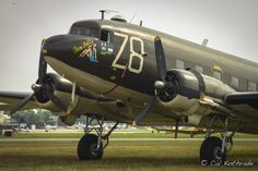 DC-3/C-47 Tico Belle.  Aviation photography of Cal Kothrade. Prints available at www.calsworld.net