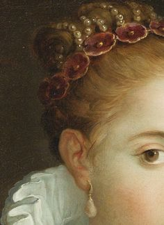 """Portrait of a Lady, 1600. Detail."""