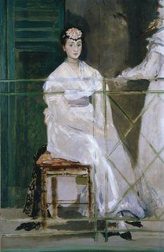 Édouard Manet - Portrait de Mademoiselle Claus