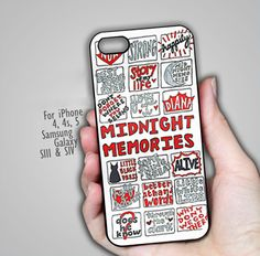 One Direction Midnight Memories IPhone 5 case