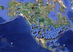 Locations Fema Camps