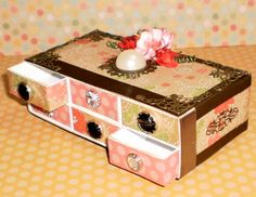 Custom slider box chest