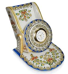 Hand Crafted Selections Floral Mobile Stand.The intricate work and close to life statuettes makes this assortment a must inclusion for your space as well as a gift of prosperity.