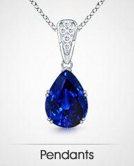 Sapphire-Pendants