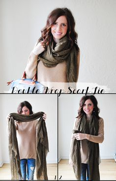 now that were well into scarf-wearing season, i thought id share one of my favorite ways to...