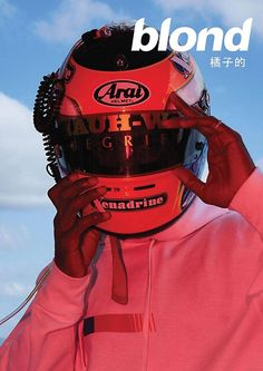 784538be9b27  Frank Ocean Helmet Poster  Poster by ch1rpch1rp