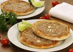 Como fazer esfiha aberta para vender Empanadas, Calzone, Pancakes, Pizza, Food And Drink, Breakfast, Foods, Burger, Pastel
