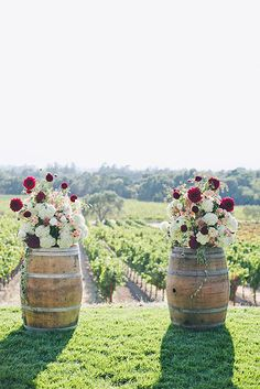 30 Wine Barrels Creative Wedding Ideas ❤ See more: http://www.weddingforward.com/wine-barrels/ #wedding