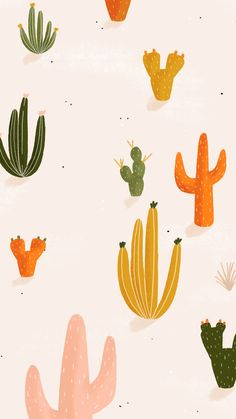 samsung wallpaper illustration colorful cactus - Best of Wallpapers for Andriod and ios Homescreen Wallpaper, Iphone Background Wallpaper, Pastel Wallpaper, Aesthetic Iphone Wallpaper, Aesthetic Wallpapers, Cactus Wallpaper, Cute Wallpaper Backgrounds, Cute Wallpapers, Colorful Backgrounds