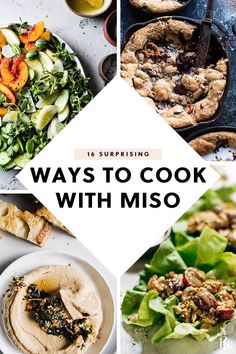 16 Surprising Ways to Cook with Miso Mexican Breakfast Recipes, Breakfast Dessert, Breakfast Pizza, Breakfast Cookies, Breakfast Bowls, Figs Breakfast, Dinner Dessert, Dessert Food, Healthy Cooking