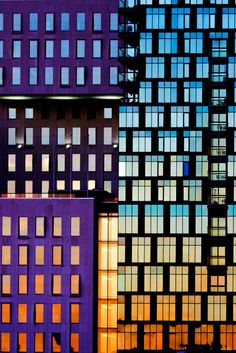 Buildings awash with color in Norway