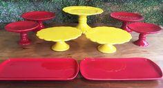 Kit Festa Amarelo e Vermelho ALUGUEL by Design Festeiro